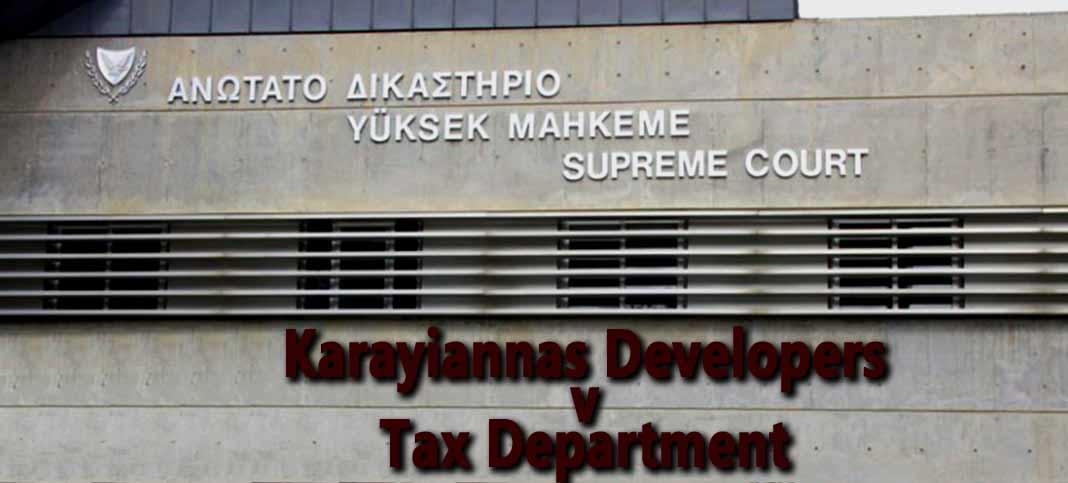 Χριστόφορος Καραγιαννάς Λιμιτεδ v. Κυπριακή Δημοκρατία: Υπόθεση Αρ.1408/11