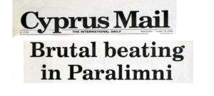 Cyprus Mail front page 16 January 2008
