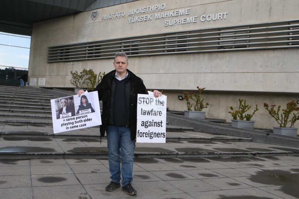 Supreme court hears British man's appeal in lengthy property dispute